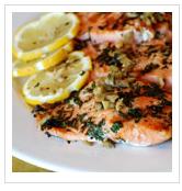 Paleo Mediterranean salmon, primal blueprint recipes, paleo recipes